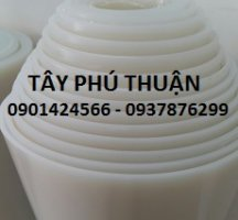 Cuộn silicone trắng 3mm