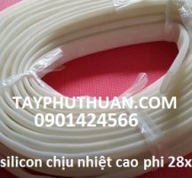 Ống silicone phi 32