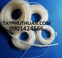 Ống silicone phi 4