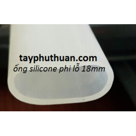 Ống silicon có sẵn phi 18 , 27 x phi 31ly