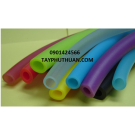 Ống silicone màu