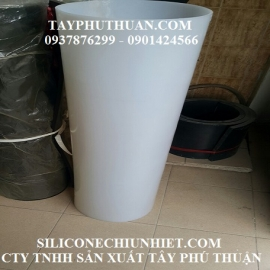 Ống silicone phi 250mm